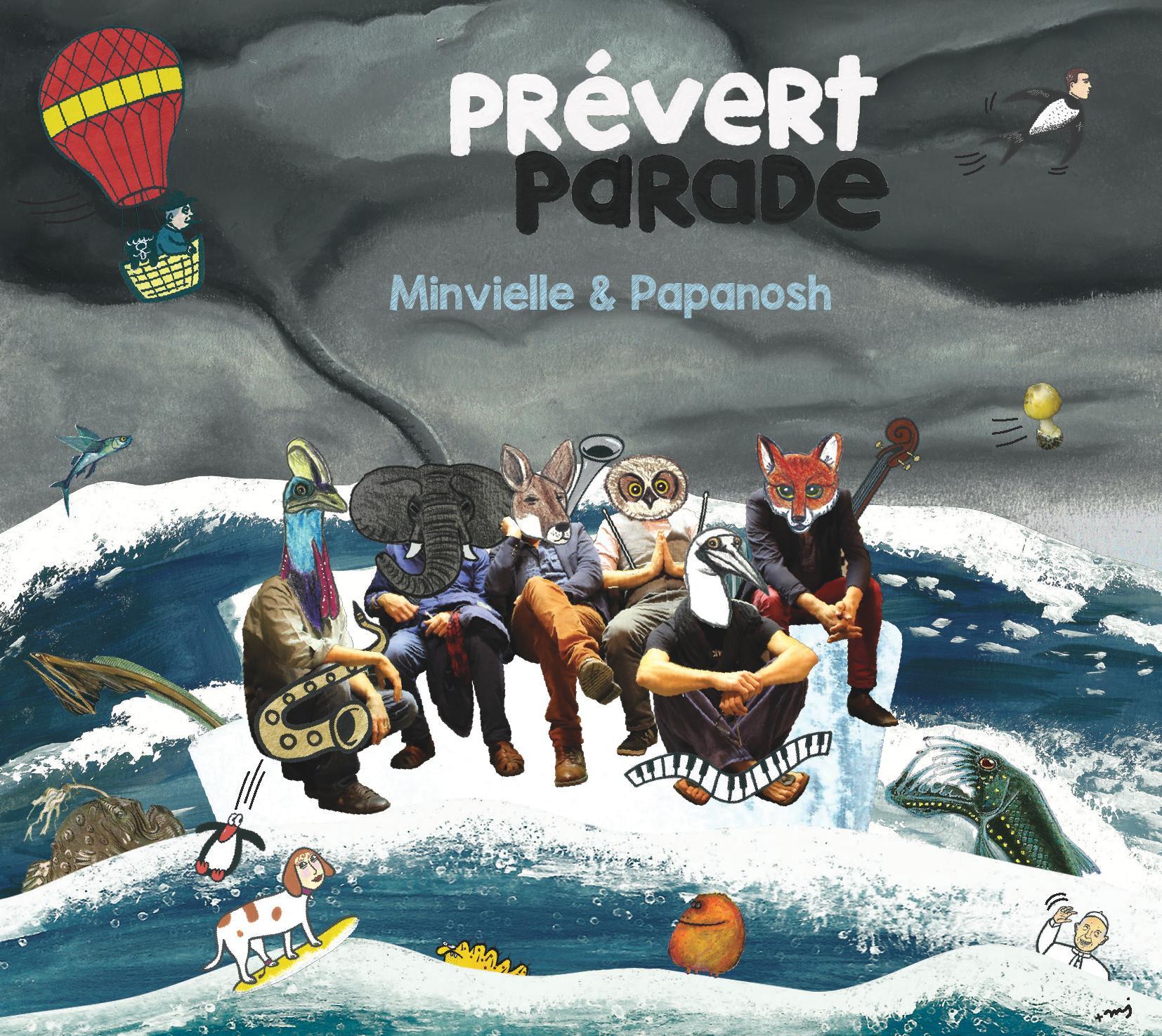 Pochette de disque Prévert Parade
