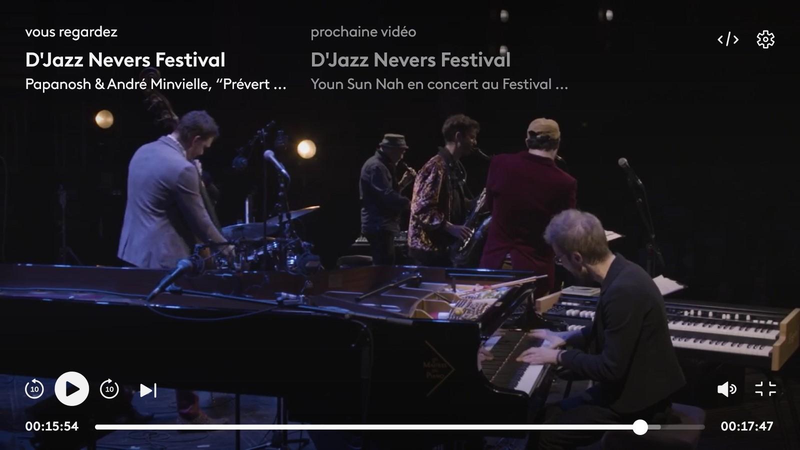 visuel concert live prevert parade