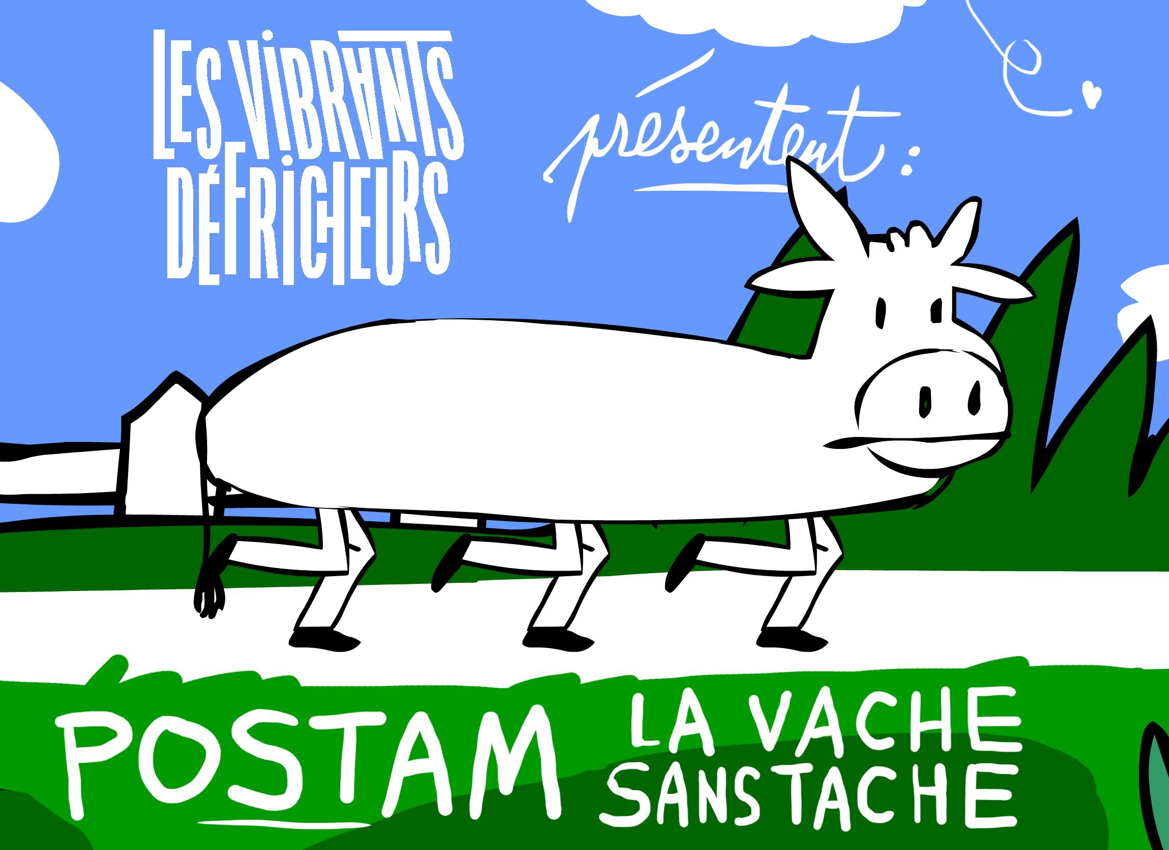 Postam la vache sans tache