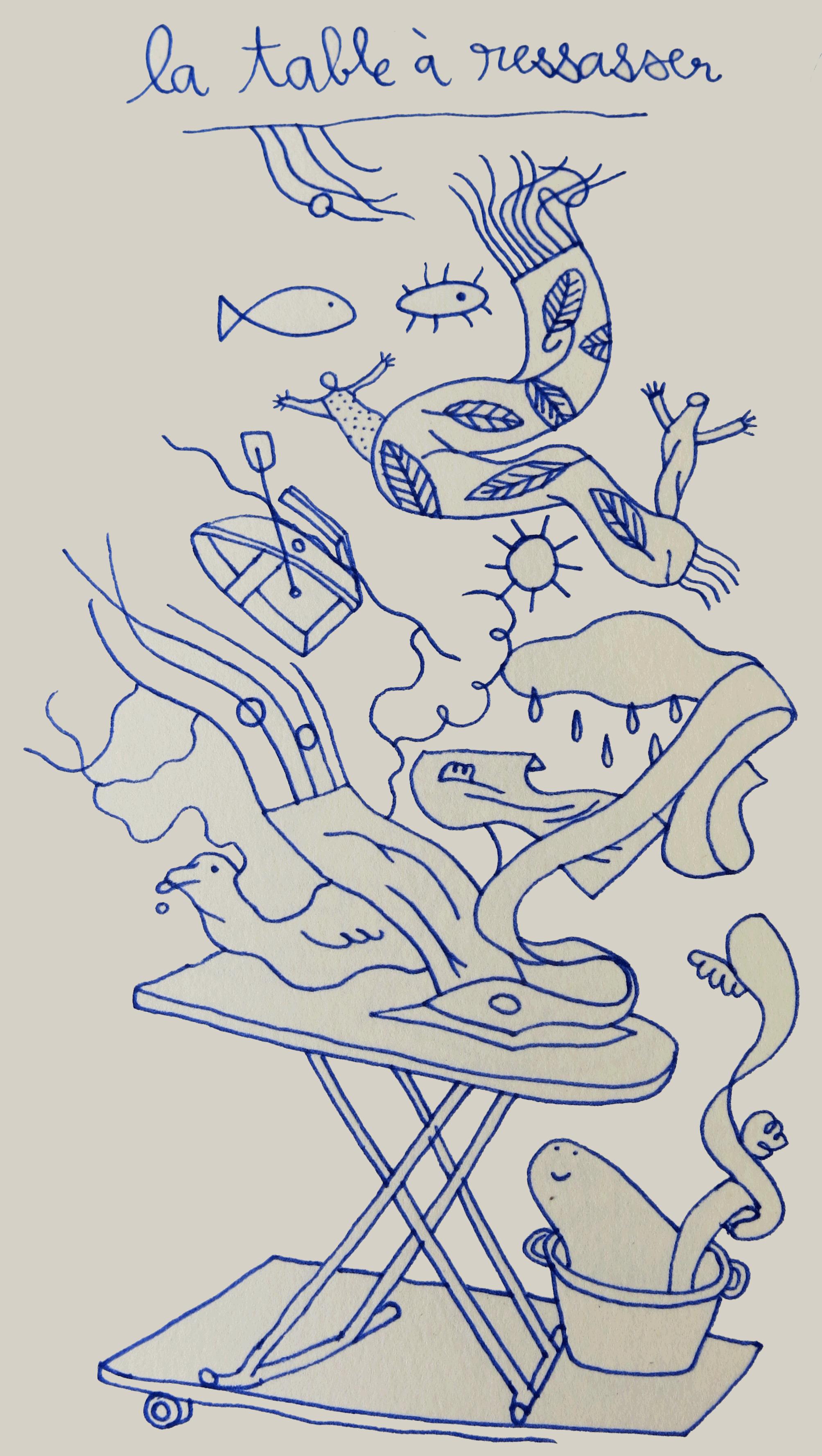 table à ressasser